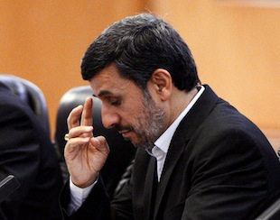 Iranian President Mahmoud Ahmadinejad. (Getty Images)