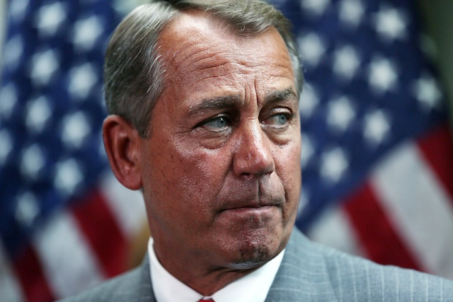 John Boehner (Alex Wong/Getty Images)