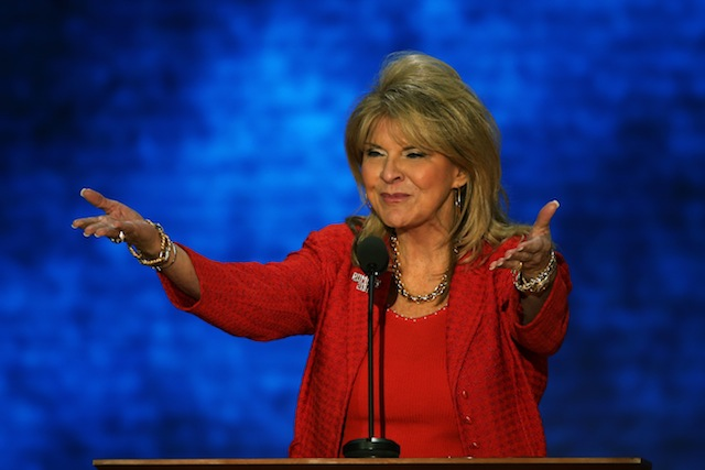 Republican National Committee Co-chair Sharon Day speaks during the Republican National Convention in Tampa Bay in August 2012. (Mark Wilson/Getty Images)