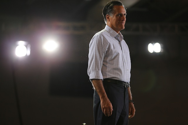Republican presidential candidate Mitt Romney in Miami (Joe Raedle/Getty Images)