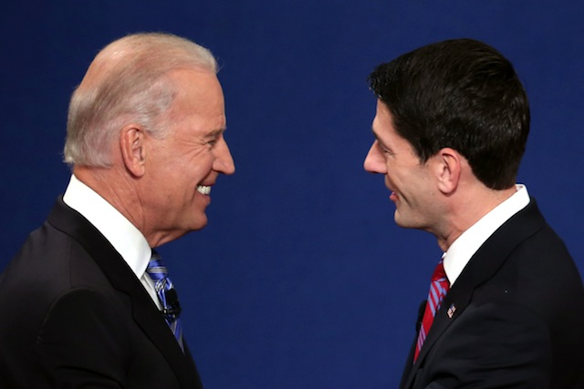 Joe Biden and Paul Ryan (Win McNamee/Getty Images)