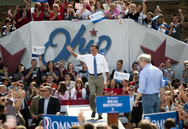 Mitt Romney in Portsmouth, Ohio (Ty Wright/Getty Images)