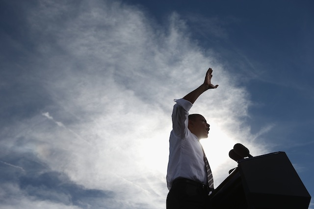 President Barack Obama in North Las Vegas, Nevada (Chip Somodevilla/Getty Images)