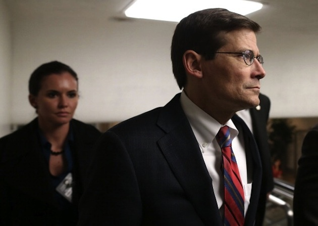 Michael Morell in the Capitol in November 2012 (Mark Wilson/Getty Images)