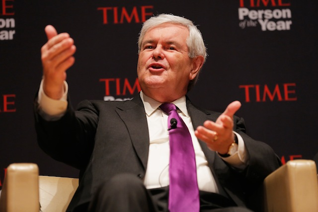 Former House Speaker Newt Gingrich (Getty Images)