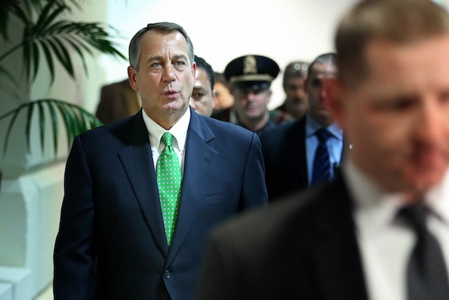House Speaker John Boehner (Chip Somodevilla/Getty Images)