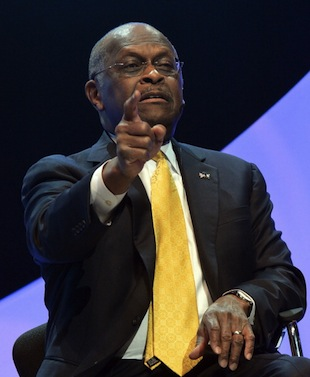 Herman Cain (Rick Diamond/Getty Images)