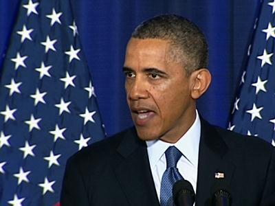 President Barack Obama defends his use of drones. (Pablo Martinez Monsivais/AP)