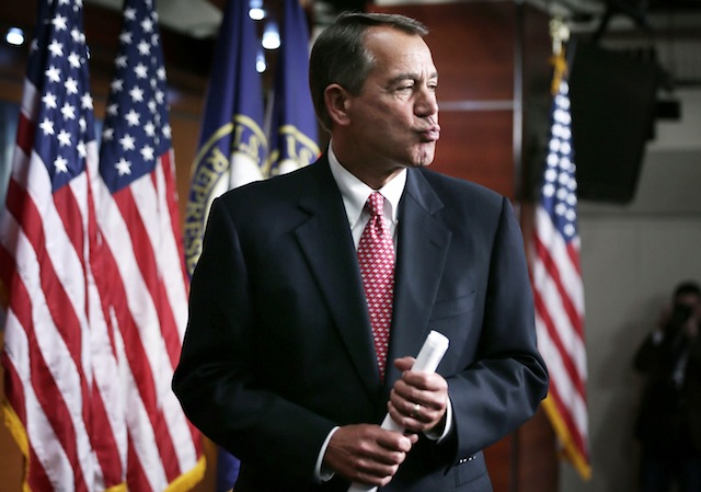 House Speaker John Boehner (Alex Wong/Getty Images)