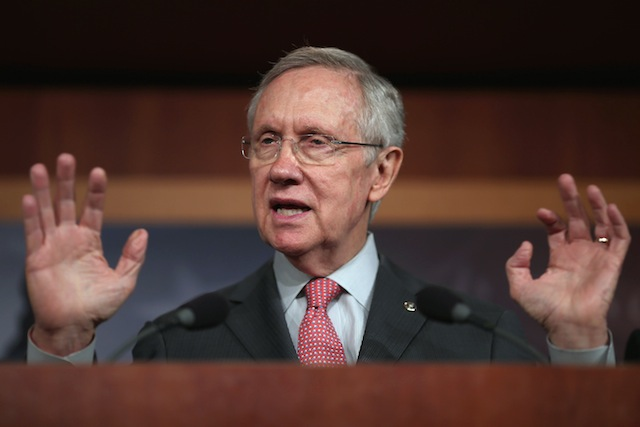 Senate Majority Leader Harry Reid (Chip Somodevilla/Getty Images)