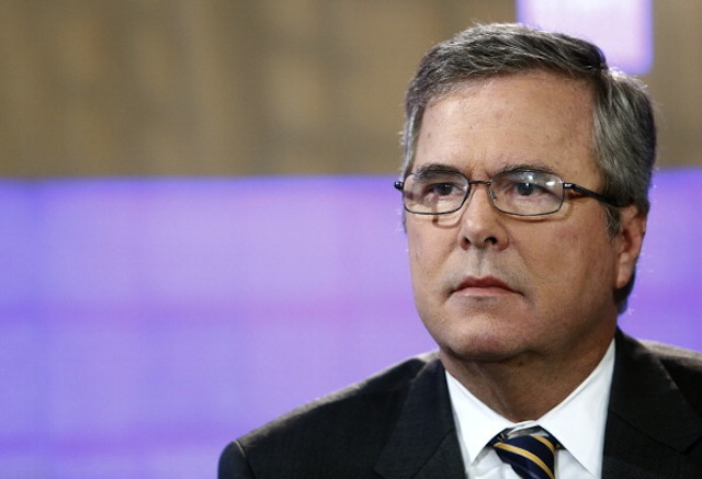 Jeb Bush appears on NBC's 'Today' show Monday. (Peter Kramer/NBC NewsWire via Getty)