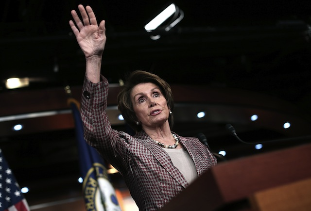 House Minority Leader Nancy Pelosi (Win McNamee/Getty Images)