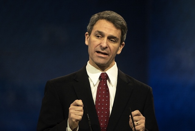 Ken Cuccinelli at the Conservative Political Action Conference in Oxon Hill, Md., on March 14, 2013. (Marvin Joseph/The Washington Post via Getty)
