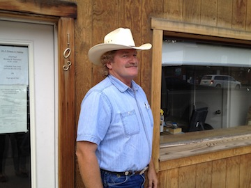 Greg Gipp near his ranch in Collbran, Colo. (Goodwin/Yahoo!)