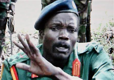 Joseph Kony of the Lord's Resistance Army in Nairobi in 2006. (Reuters TV)