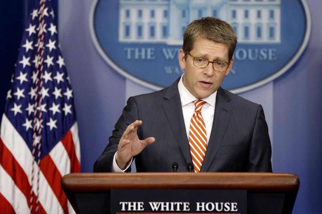 White House press secretary Jay Carney (Charles Dharapak/AP)