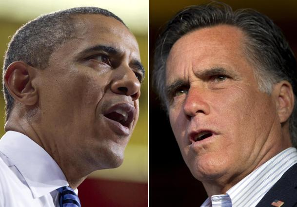 Obama and Romney. (Carolyn Kaster, Evan Vucci/AP Photo)