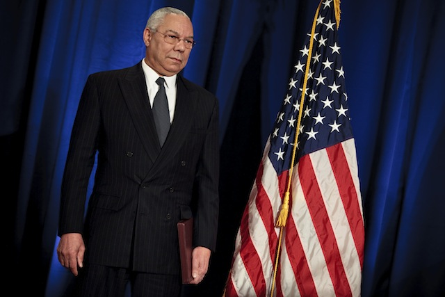 Colin Powell (Brendan Smialowski/Getty Images)