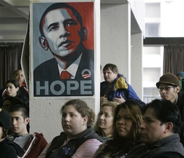 Students at Cleveland State University in 2008. (Tony Dejak/AP)
