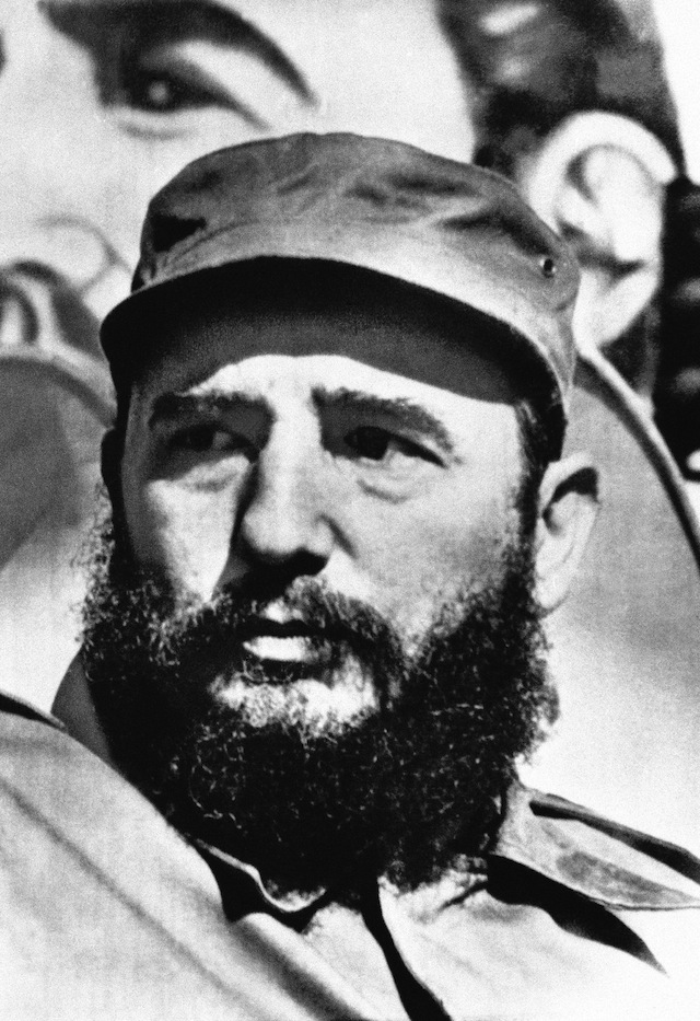 Cuban leader Fidel Castro, date unknown (AP)