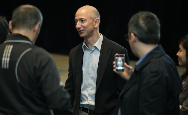 Amazon.com Inc. CEO and founder Jeff Bezos. (Ted S. Warren/AP)