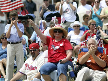 A Philadelphia tea party rally July 4 (Joseph Kaczmarek/AP)