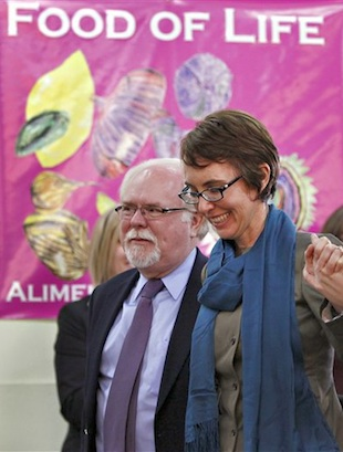 Barber and Giffords in Jan. 2012 (Matt York/Pool via AP)