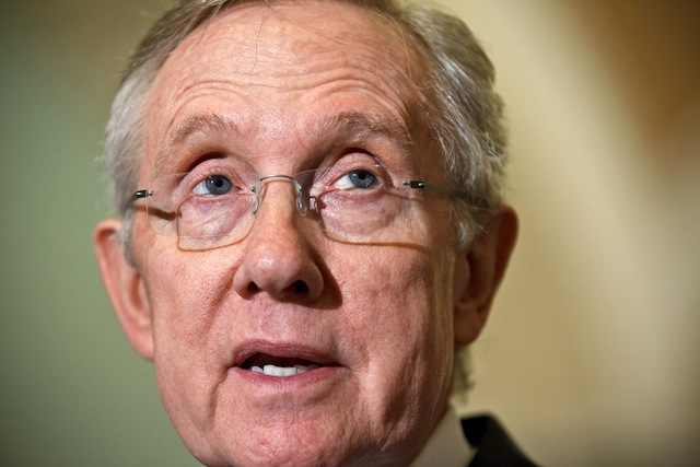 Harry Reid. (J. Scott Applewhite/AP)