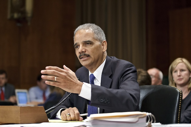 Holder appears on Capitol Hill June 12 (J. Scott Applewhite/AP)