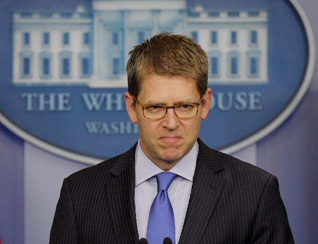 White House Press Secretary Jay Carney (Pablo Martinez Monsivais/AP)