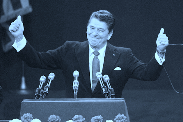 A Ronald Reagan hologram is scheduled to debut soon. (Original image Rusty Kennedy/AP)