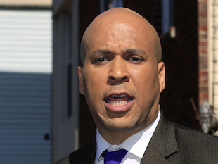 Newark, New Jersey Mayor Cory Booker (Mel Evans/AP)