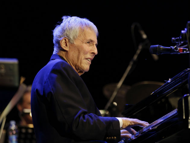 Burt Bacharach performs in Italy (AP/Luca Bruno)