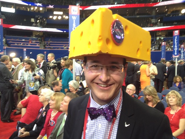 Republican convention delegate Sol Grosskopf of Wisconsin (Liz Goodwin)