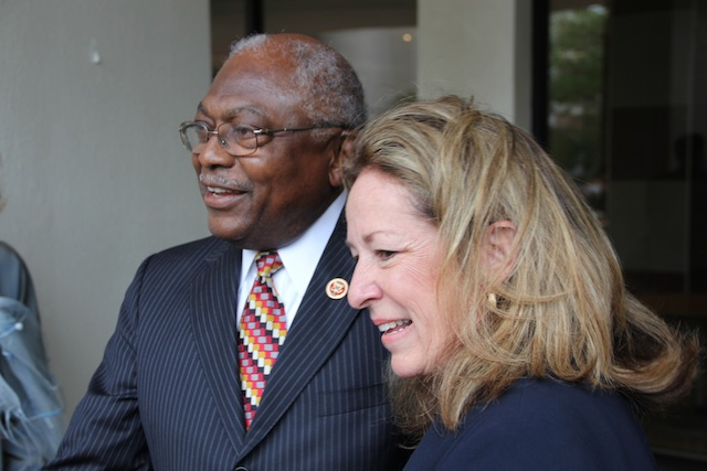 South Carolina Rep. James Clyburn campaigns with Colbert Busch in Charleston, S.C. (Chris Moody/Yahoo News)