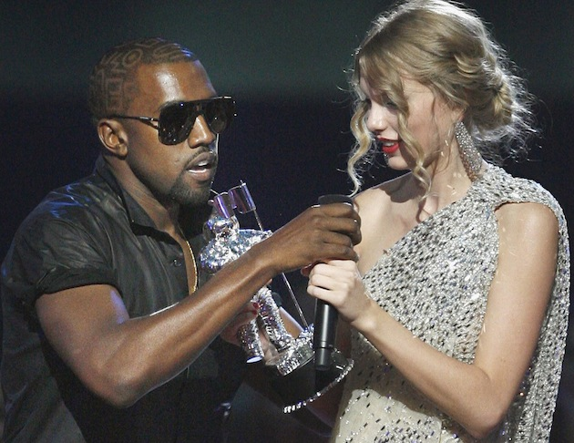 Kanye West and Taylor Swift (Jason DeCrow/AP)