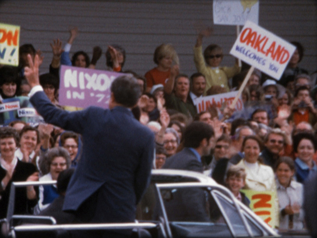"A scene from ""Our Nixon"" (via Dipper Films)"