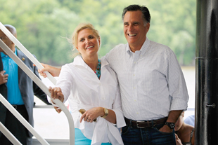 The Romneys in Iowa (Joe Raedle/Getty Images)