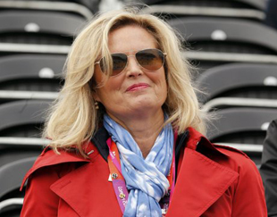 Ann Romney at the Olympics Tuesday (Mike Hutchings/Reuters)