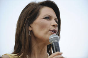 Photo of Bachmann (Andy Dunaway/AP)
