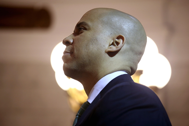 Newark, N.J., Mayor Cory Booker (John Moore/Getty Images)