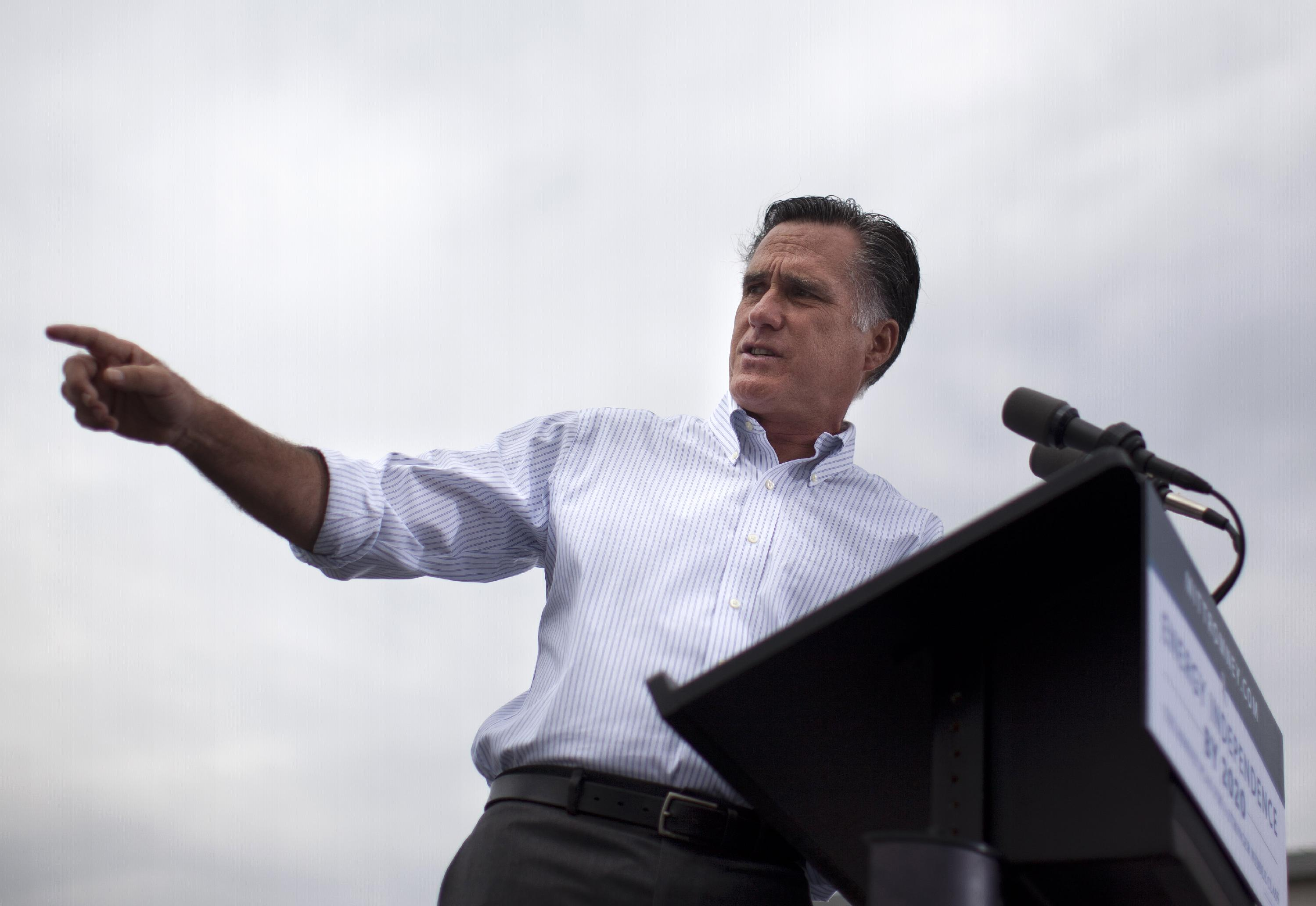 Romney in New Mexico (Evan Vucci/AP)
