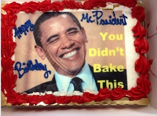 Gag cake (courtesy: Republican National Committee)