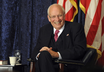 Cheney (Rose Palmisano/Orange County Register via AP)