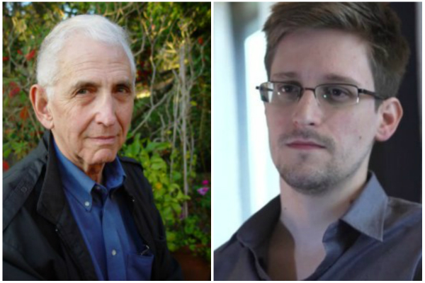 Ellsberg and Snowden (Ellsberg.net/Guardian)