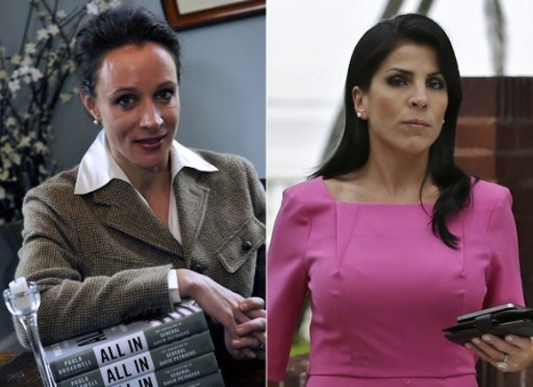 Paula Broadwell, left, and Jill Kelley, right (AP Photos/Charlotte Observer, T. Ortega Gaines/AP, Chris O'Meara)