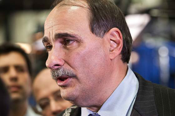 David Axelrod with his mustache (Andrew Burton/Getty Images)