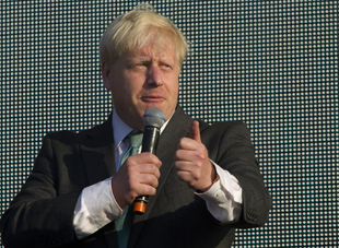 Boris Johnson (Joel Ryan/AP)