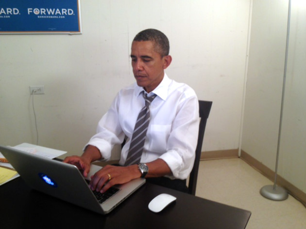 President Obama participates in an online chat, Aug. 29. 2012. (Reddit)