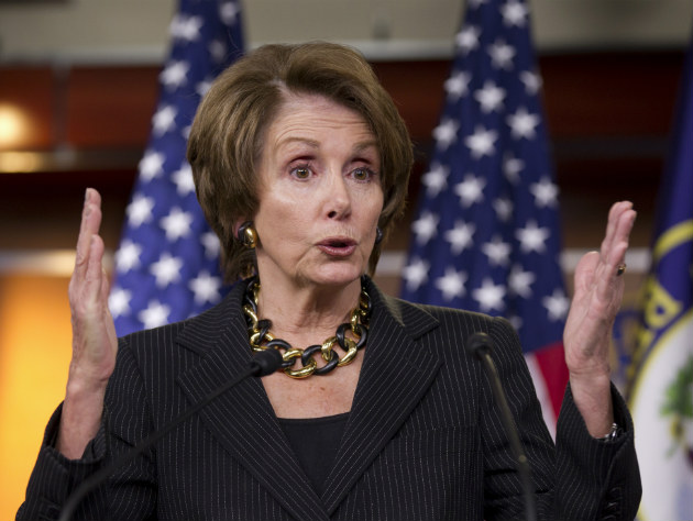 House Minority Leader Nancy Pelosi (AP/J. Scott Applewhite)